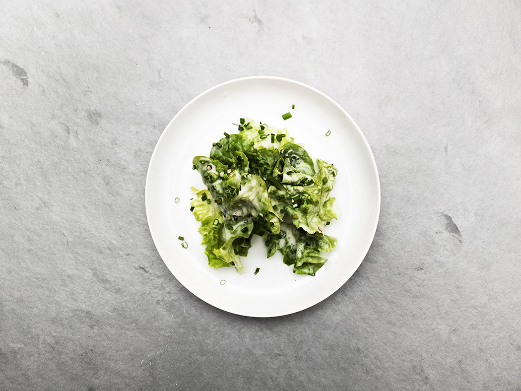 butterhead-lettuce-salad-with-sweet-cream-dressing